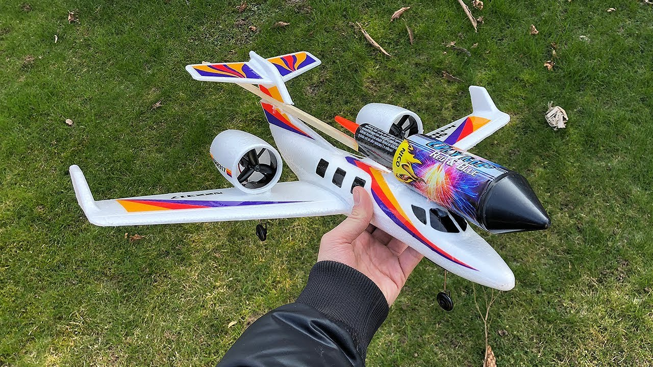 rocket powered rc jet