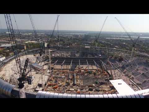22/04/18 Tottenham Hotspur new stadium bird eye view