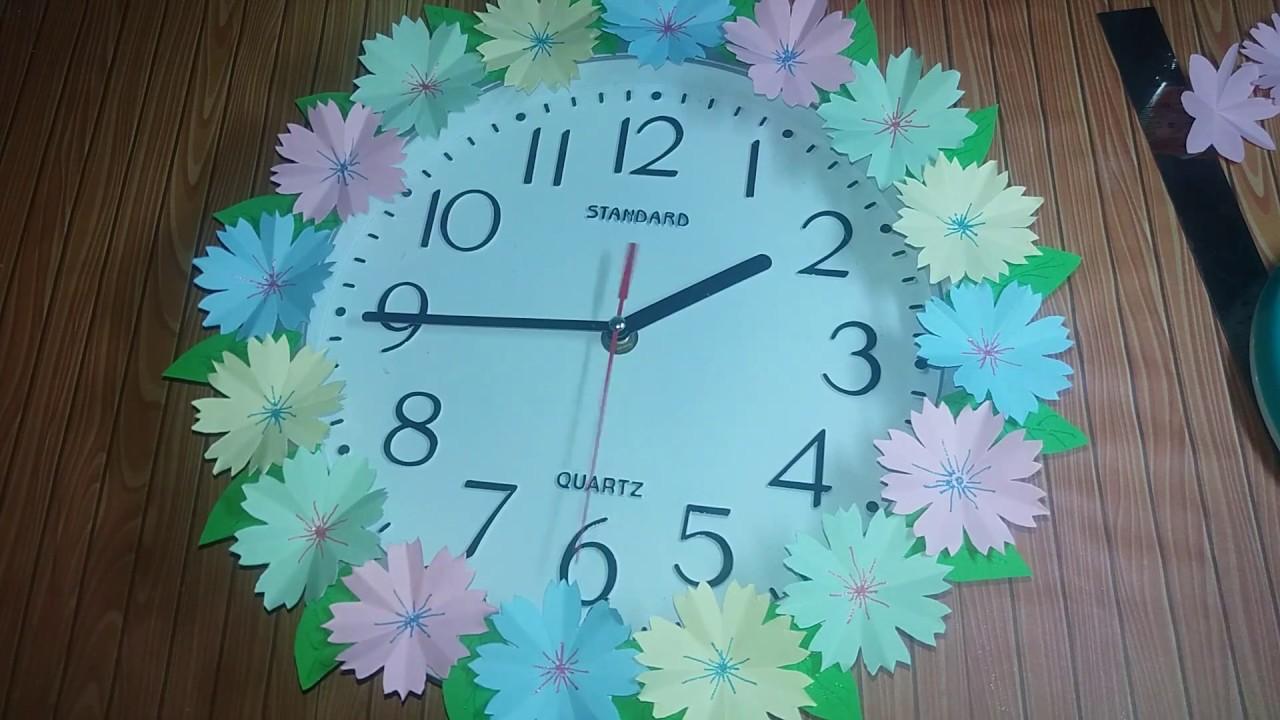 Bahan Membuat Hiasan Jam Dinding