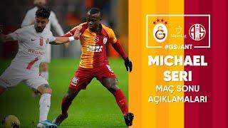 🎙 Jean Michaël Seri'nin maç sonu açıklamaları | #GSvANT