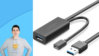 Best USB Extension Cable // UGREEN USB 3.0 Extension Cable 10m Review