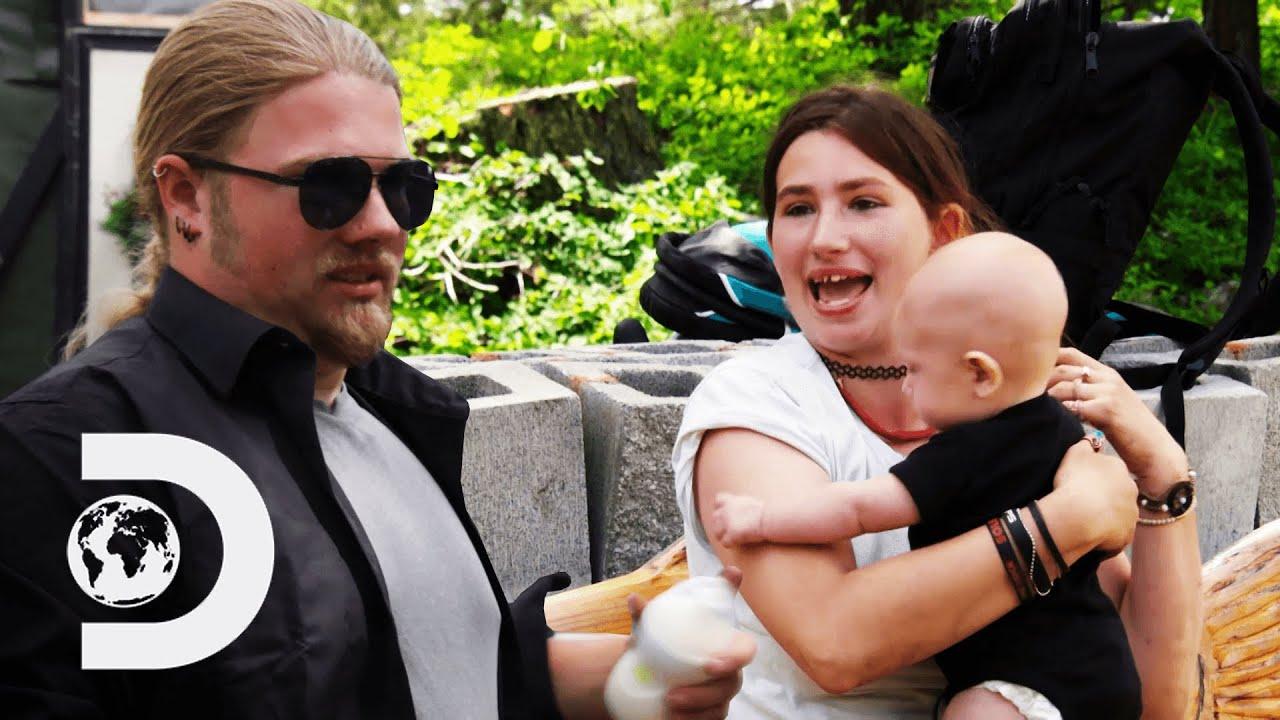 Snowbird Babysits Her Godson For The First Time Alaskan Bush