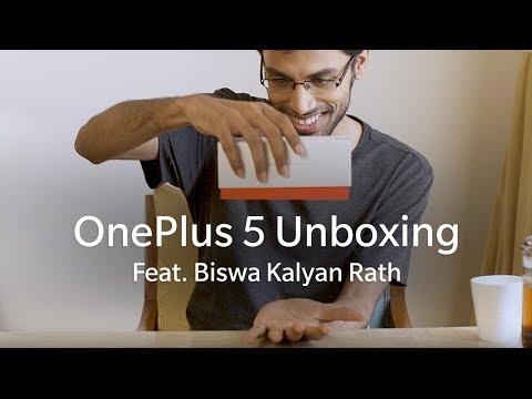 OnePlus 5 Unboxing Feat. Biswa Kalyan Rath
