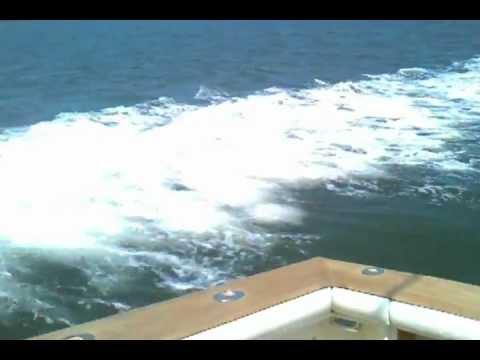 "Sea trial of ""Wild Thing"" 48' Ocean Super Sport 1988"