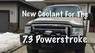 7 3 Powerstroke Coolant Flush Youtube