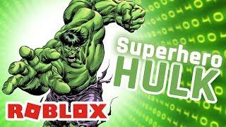 ROBLOX INDONESiA | SUPERHERO HULK GA ADA TANDiNGAN 😍