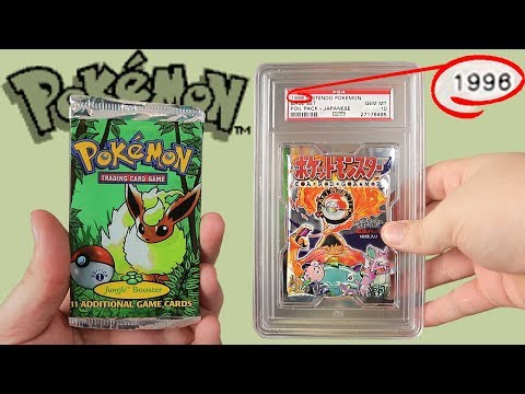 Opening Some Really Really Old Pokemon Cards