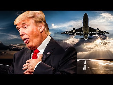 Deranged Trump Takes Credit For Lack Of Airline Crashes In US In 2017