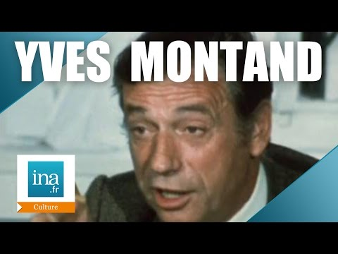 Yves Montand raconte Edith Piaf | Archive INA