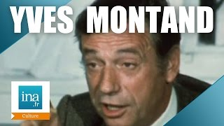 Yves Montand raconte Edith Piaf | Archive INA Video