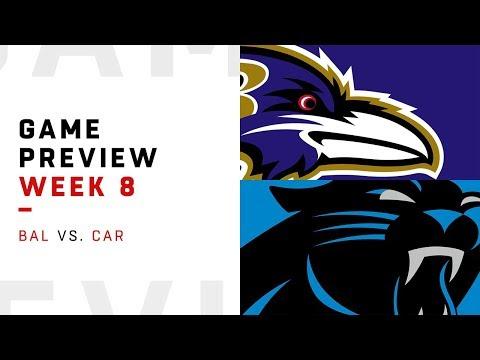 Baltimore Ravens vs. Carolina Panthers | Week 8 Game Preview | Move the Sticks