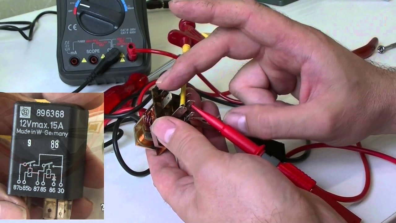 Porsche 944 Repairing Dme Relay Youtube
