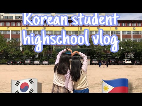 WHAT DO KOREANS THINK OF THE PHILIPPINES? (turn On Captions) | #vlog1 #schooltour