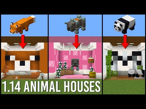 17 Animal House Designs in Minecraft 1.14