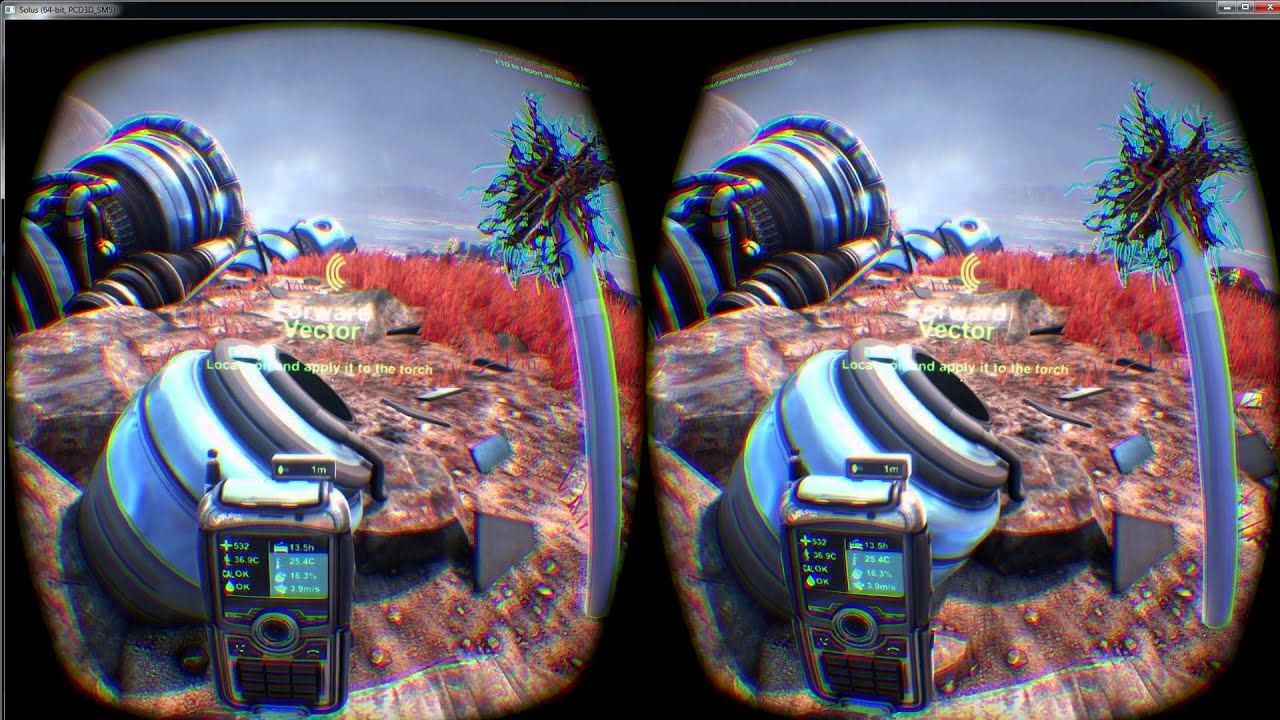 The SOLUS Project BIG VR Update Oculus Rift CONTROLS ARE FIXED by  ImmersiveGamer83