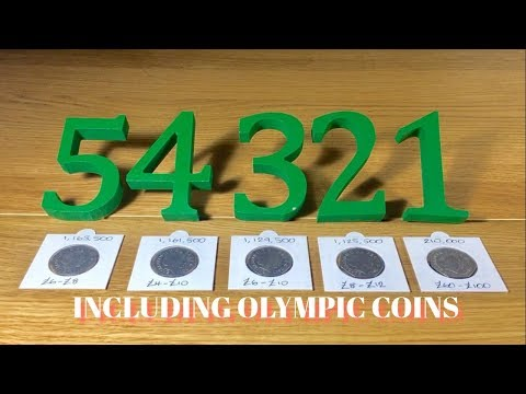 TOP 5 RAREST UK 50p COINS (INCLUDING OLYMPIC) IN CIRCULATION || 2017 || VIDEO