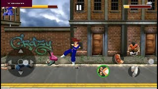 Super Goku Fighting Legend Street Revenge Fight Mission 1 Level 1 to 5 [Android Game]  Youtube