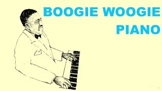 1 Hour of Boogie Woogie Solo with Boogie Woogie Piano Playlist