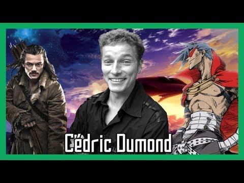 Vidéo Interview Cédric Dumond - Comédien (Doublage)