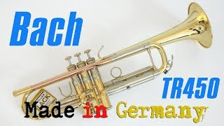 TrumpetScout Trompetentest: Bach TR450