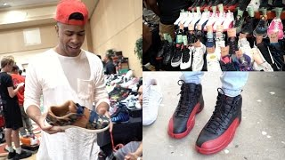 MY FIRST SHOE CONVENTION! I GOT SOME HEAT!!!! NEW Vlog Series Ep.1