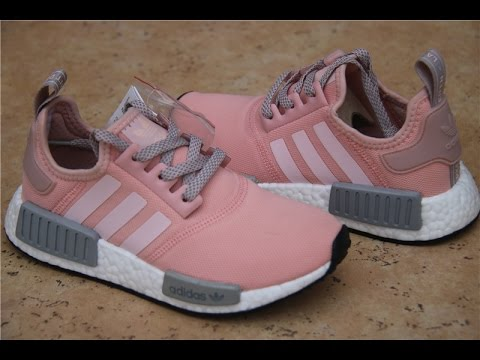 Adidas NMD R1 BY3059 Wo   Vapor Pink Grey Onyx Boost  Wo  97e412
