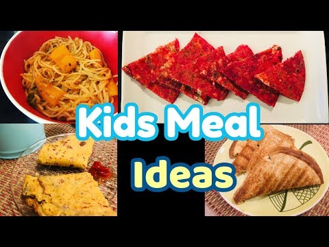 Indian Kids Meal Ideas -Quick & Healthy Recipes For Kids And Adults /Happy Home Happy Life