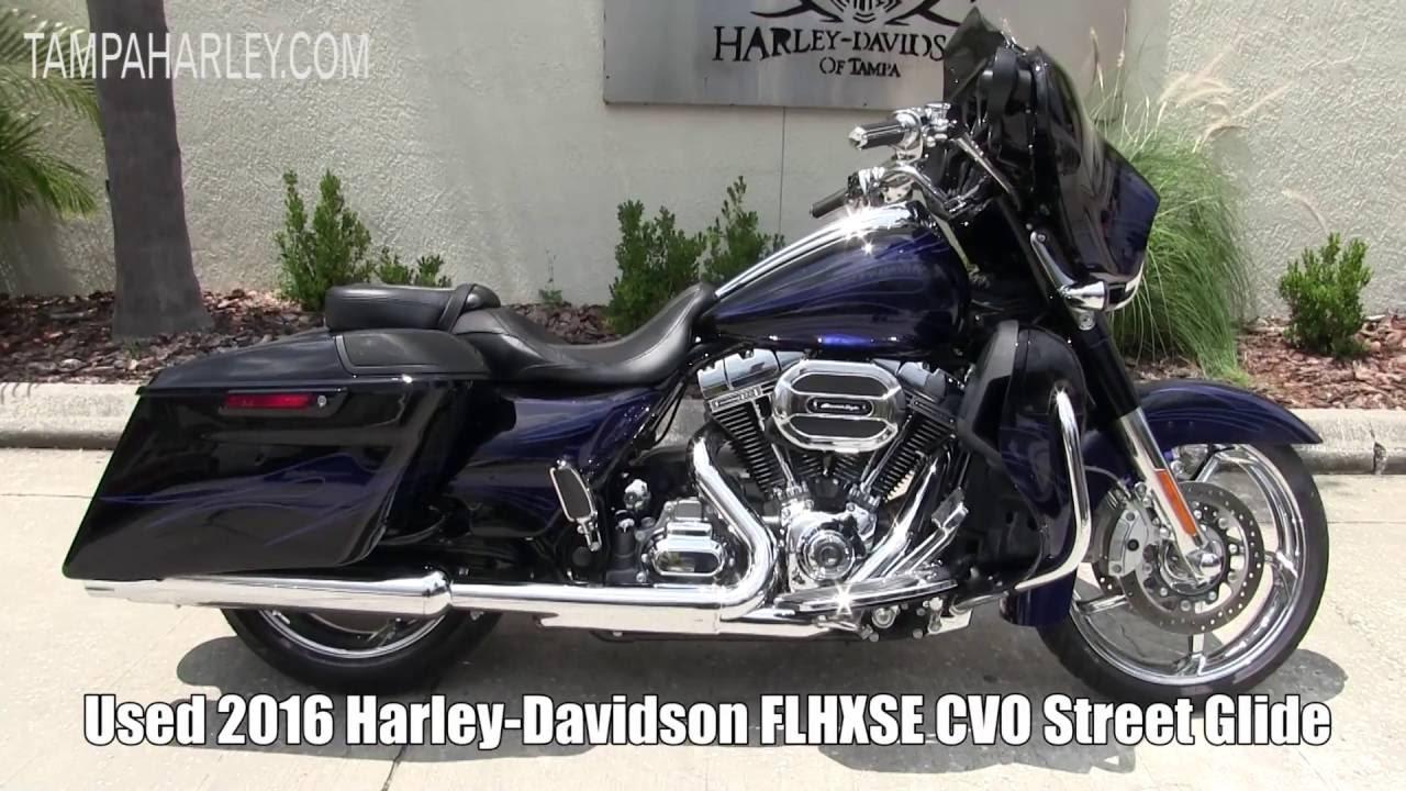 Street Glide For Sale >> Used 2016 Harley Davidson Cvo Street Glide For Sale In Florida