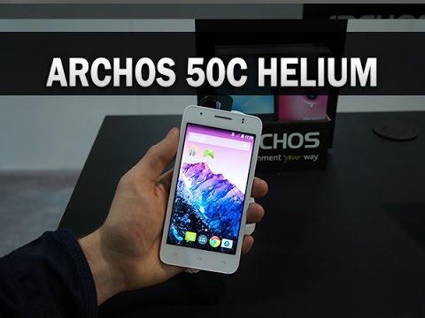 Archos 50C Helium, prise en main au CES 2015 - par Test-Mobile.fr