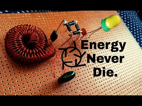 Free energy the energy never die, coil reproducing energy