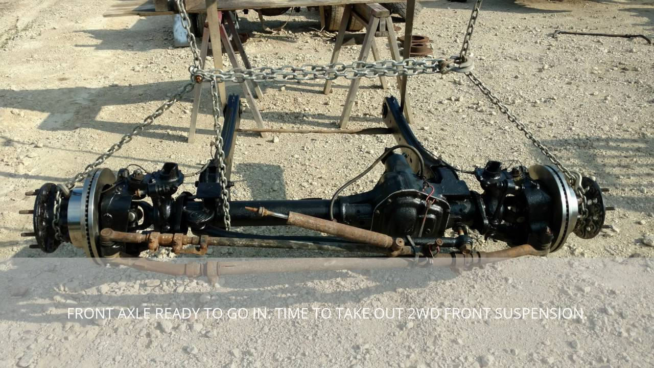 small resolution of part 1 2006 f250 2wd srw to f350 4wd dually conversion ford f 250 axle diagram