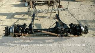 part 1 2006 f250 2wd srw to f350 4wd dually conversion