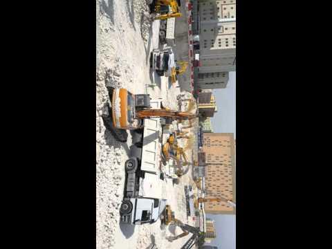 Doha Qatar Danger excavation work project manager wahid jan and sagar khan