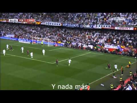 Real Madrid Song Hala Madrid y Nada Mas  Lyrics 2014-2015