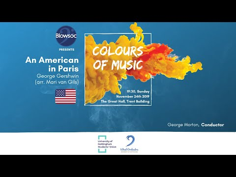 🎵 Wind Orchestra: 🇺🇸 An American in Paris — George Gershwin (arr. Mari van Gils)
