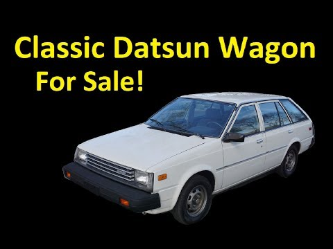DATSUN 310 210 SUNNY STATION WAGON 1 OWNER 55K MI FOR SALE FULL