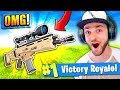 The SNIPER SCAR in Fortnite: Battle Royale!