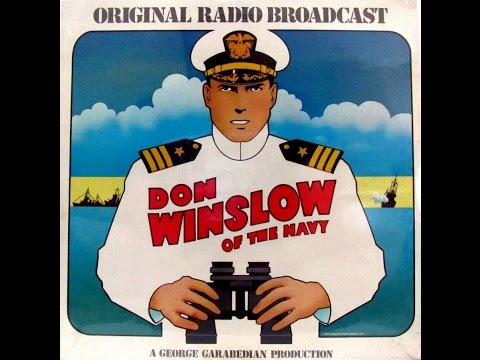 Don Winslow Of The Navy RADIO SHOWS Mark 56 #626 FULL ALBUM