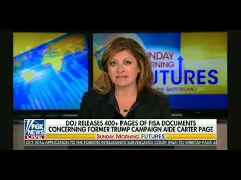 Bob Goodlatte Talks With Maria Bartiromo About Russia, The Dossier, FISA Documents, John Brennan,etc