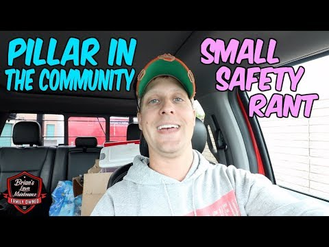 Becoming A Pillar In The Community   Small Safety Rant About Wearing PPE!