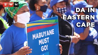 The Democratic Alliance was in Eastern Cape for a protest against corruption on 13 October 2021.  #Zille #Steenhuisen