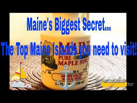 Maine's best kept unknown Secret Paradises Island Destinations in Maine!
