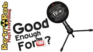 Blue Snowball iCE YouTube Microphone Unboxing and Review