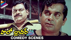 Brahmi's Famous Dialogue | Nenu Commongane Chusanu, Nuvve Kangaru Paddav | Hello Brother Scenes