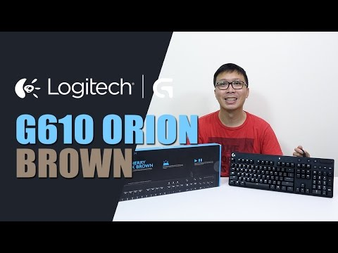 รีวิว: Logitech | G - G610 Orion Brown