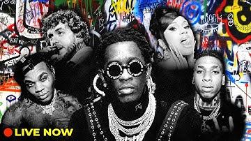 Rap Live Radio 24/7   Hip Hop, Best Hype & Popular Rap Music by Lil Uzi Vert, Roddy Ricch & more!
