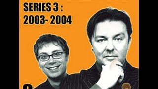 Ricky Gervais Show XFM 75 Same Old Hell Eskimo Bile Phones Please And More