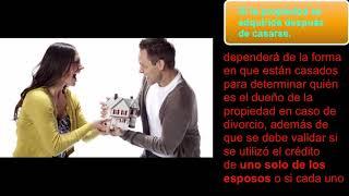 Divorcio Y Las Hipotecas ¿que Pasa Con Los Bienes Y Cómo Se Reparten?