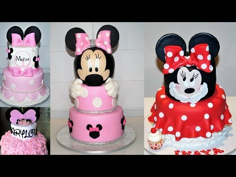 Cake Decorating Tutorial | DISNEY MINNIE MOUSE Cake Compilation | Sugarella Sweets