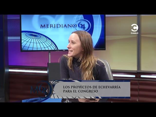 Los proyectos de Luciana Echevarría para el Congreso